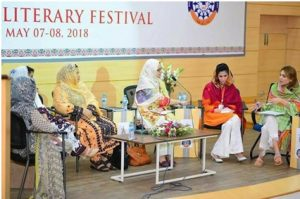 BEING THE GUESTS OF HONOUR AT QUETTA LITERATURE FESTIVAL – MAY 2018